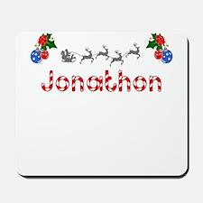 Jonathon, Christmas Mousepad