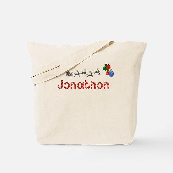 Jonathon, Christmas Tote Bag