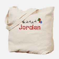 Jorden, Christmas Tote Bag