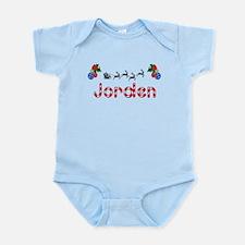 Jorden, Christmas Infant Bodysuit