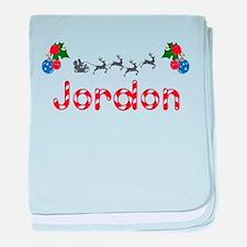Jordon, Christmas baby blanket