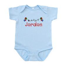 Jordon, Christmas Infant Bodysuit