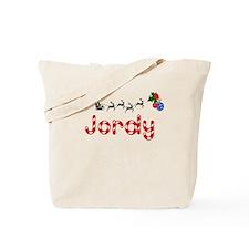 Jordy, Christmas Tote Bag