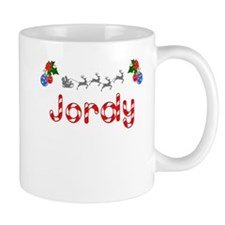 Jordy, Christmas Small Mug