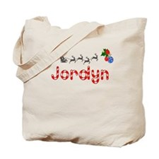 Jordyn, Christmas Tote Bag