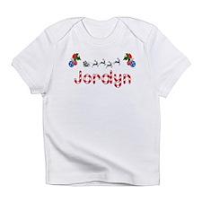 Jordyn, Christmas Infant T-Shirt