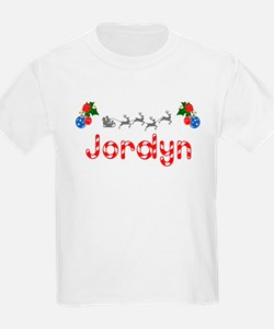 Jordyn, Christmas T-Shirt