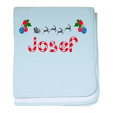 Josef, Christmas baby blanket