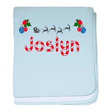Joslyn, Christmas baby blanket