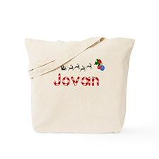 Jovan, Christmas Tote Bag
