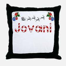 Jovani, Christmas Throw Pillow