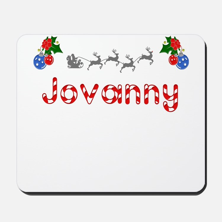 Jovanny, Christmas Mousepad