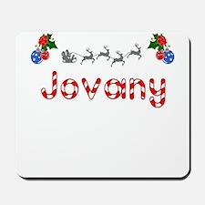 Jovany, Christmas Mousepad