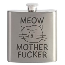 Meow Mother Fucker Flask
