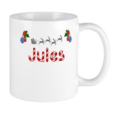Jules, Christmas Mug