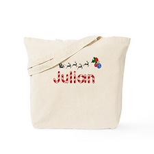 Julian, Christmas Tote Bag