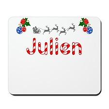 Julien, Christmas Mousepad