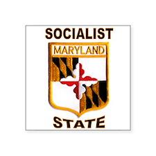 "MARYLAND Square Sticker 3"" x 3"""