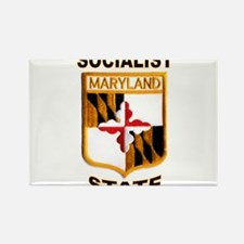 MARYLAND Rectangle Magnet