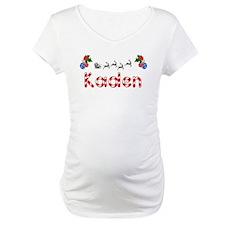 Kaden, Christmas Shirt