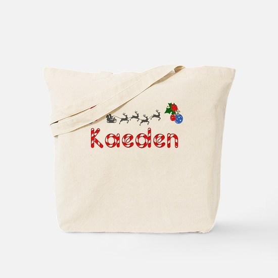 Kaeden, Christmas Tote Bag