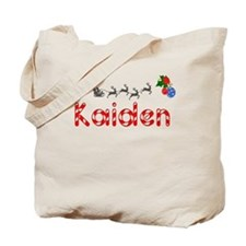 Kaiden, Christmas Tote Bag