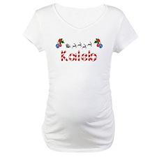 Kaleb, Christmas Shirt