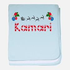 Kamari, Christmas baby blanket