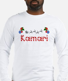 Kamari, Christmas Long Sleeve T-Shirt