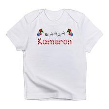 Kameron, Christmas Infant T-Shirt