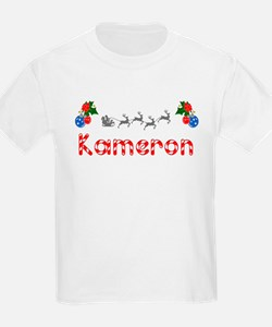 Kameron, Christmas T-Shirt