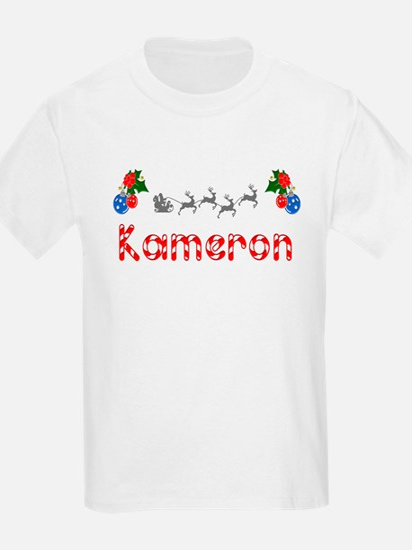 Kameron, Christmas T-Shirt