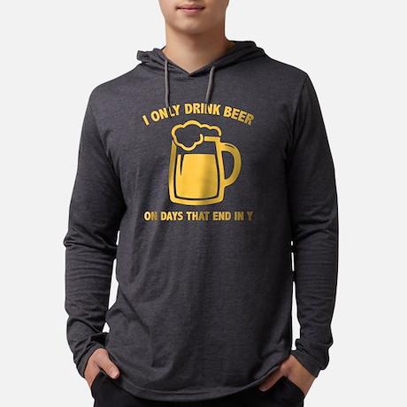 I only drink beer