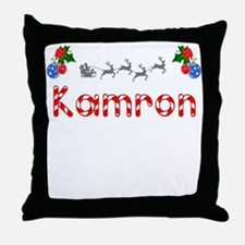 Kamron, Christmas Throw Pillow