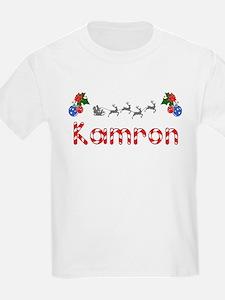 Kamron, Christmas T-Shirt