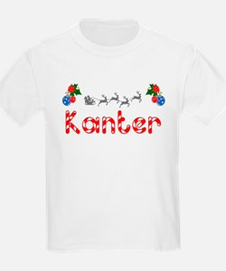 Kanter, Christmas T-Shirt