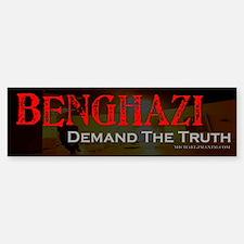 Benghazi Demand Truth Sticker (Bumper)