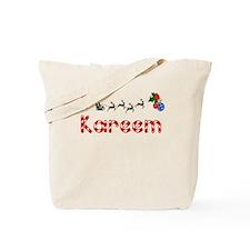Kareem, Christmas Tote Bag