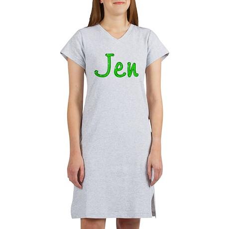 Jen Glitter Gel Women's Nightshirt