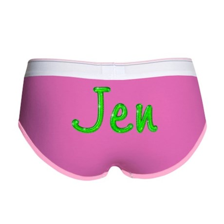 Jen Glitter Gel Women's Boy Brief