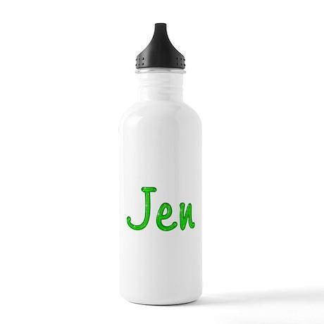 Jen Glitter Gel Stainless Water Bottle 1.0L