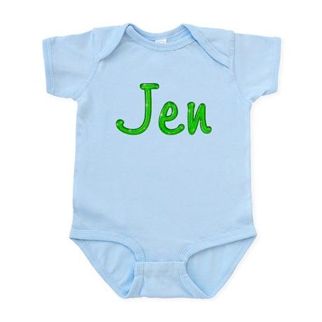 Jen Glitter Gel Infant Bodysuit