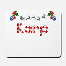 Karp, Christmas Mousepad