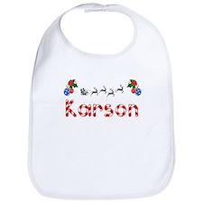 Karson, Christmas Bib