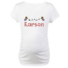 Karson, Christmas Shirt
