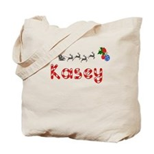 Kasey, Christmas Tote Bag