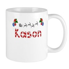 Kason, Christmas Mug