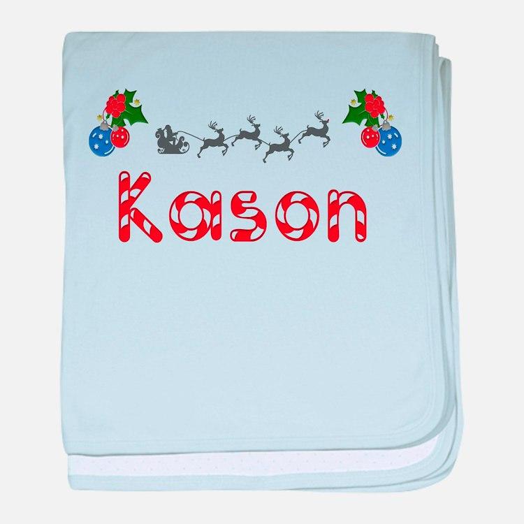 Kason, Christmas baby blanket