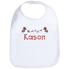 Kason, Christmas Bib