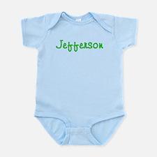 Jefferson Glitter Gel Infant Bodysuit